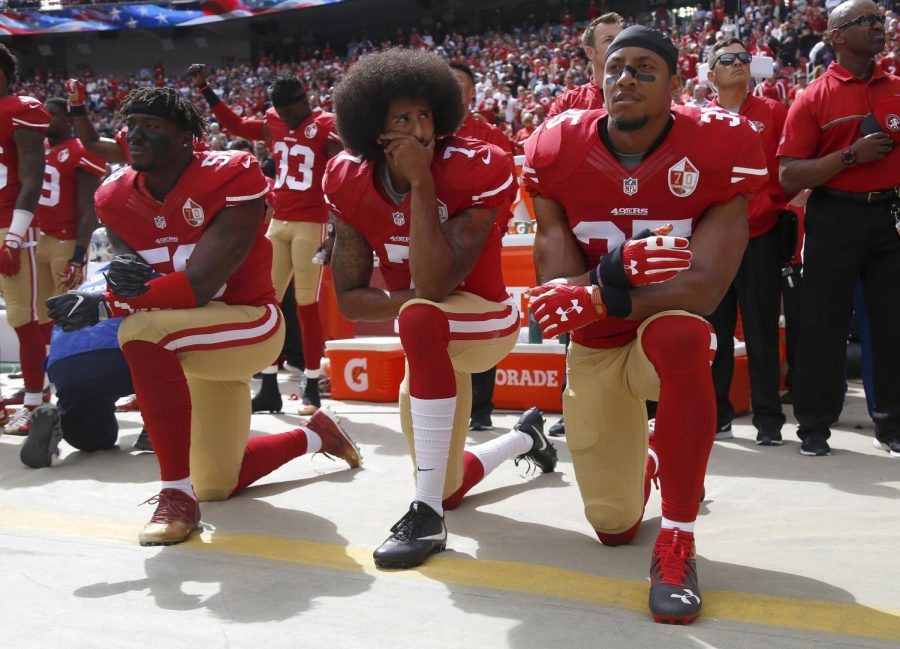Kneeling For Nothing