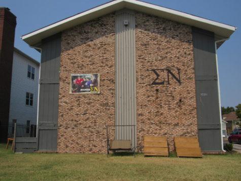 Sigma Nu fraternity house