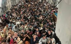 Afghan refugees are safely transported from Kabul to the United States.